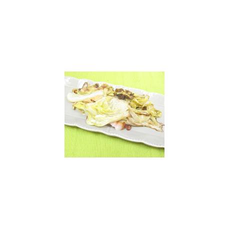 Salade pain de sucre braisée