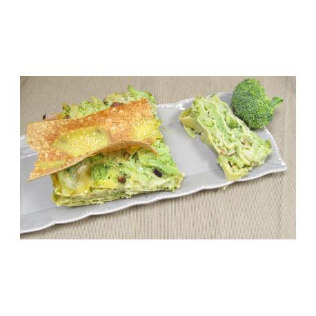 Lasagnes de brocolis