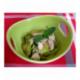 Wok de poulet, courgettes et nouilles
