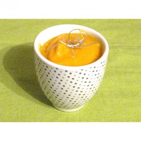 Velouté de courge butternut à la pomme et aux épices