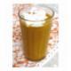 Capuccino de potiron et marrons aux épices
