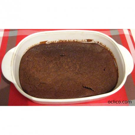 Fondant au chocolat noir et à la courge