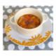 Compote d'abricots, pêche et brugnon à la verveine
