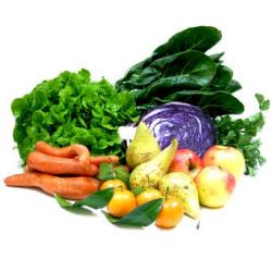 Panier de fruits et légumes (1 personne)