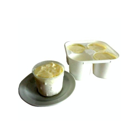 Faisselles au lait de chèvre (4x125g)