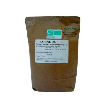 Farine de blé T110 (1kg)