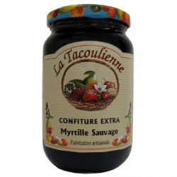 Confiture de myrtille sauvage (370g)