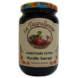 Confiture de myrtille sauvage (370g)