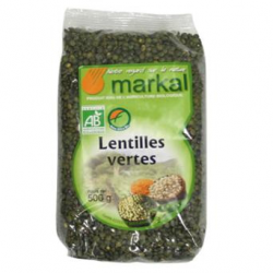 Lentilles vertes (500g)