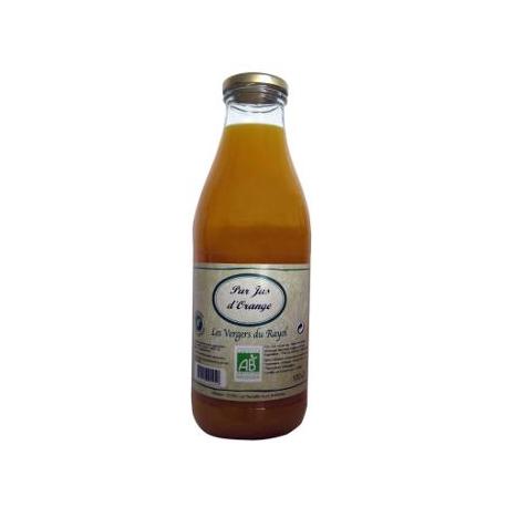 Jus d'orange bio 100% pur jus (1L)