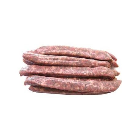 Chipolatas aux herbes (x10, 600g), porc