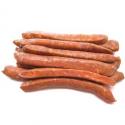 Saucisses façon merguez, agneau et porc bio (x10, 600g)