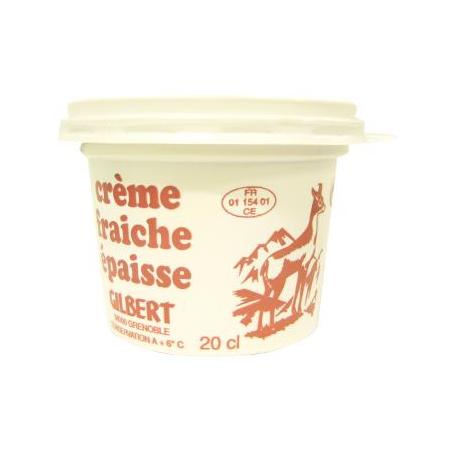 Crème épaisse 20cl