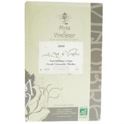 Le Mas de Vinobre, vin rouge bio (5L), 13,5°