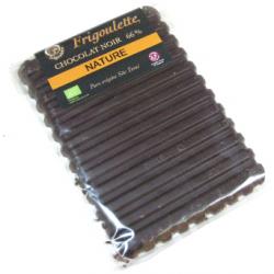 Tablette de chocolat noir bioéquitable (100g)