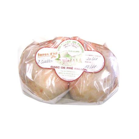 2 cuisses de poulet (600g environ)