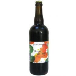 Bière de Noël bio du Chardon (75cl)