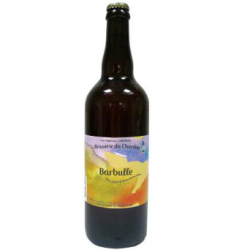 Bière blonde bio Barbulle du Chardon (75cl)
