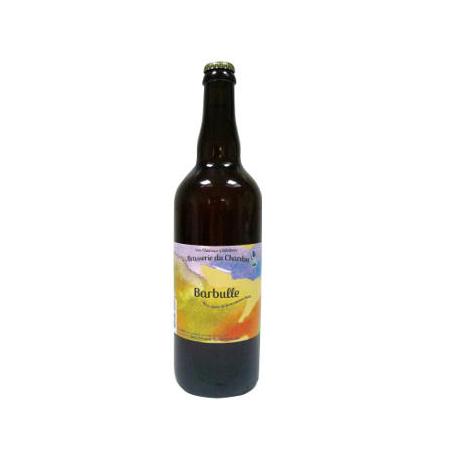 Bière blonde bio Barbulle du Chardon (75cl)