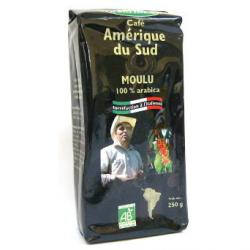 Café bio moulu 100% Arabica (250g)