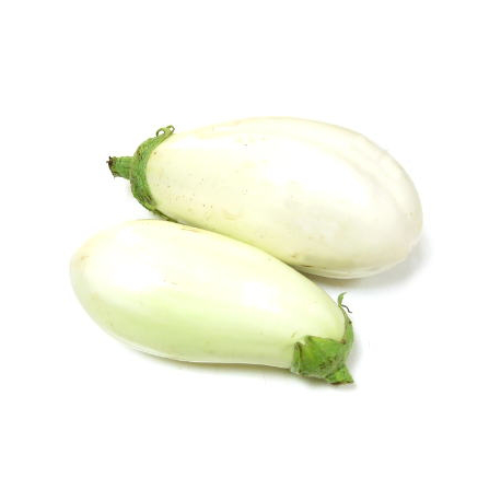 Aubergines blanches (kg)