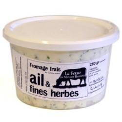 Fromage frais ail et fines herbes (280g)
