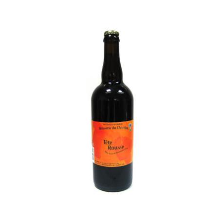 Bière rousse bio Tête Rousse du Chardon (75cl)