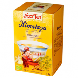 Infusion d'épices Yogi Tea Himalaya (17 infusettes)