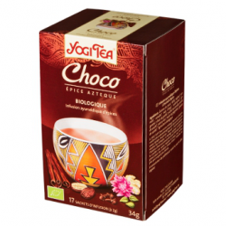 Infusion d'épices Yogi Tea Choco (17 infusettes)