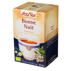 Infusion d'épices Yogi Tea Bonne nuit (17 infusettes)