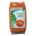 Lentilles rouges corail (500g)