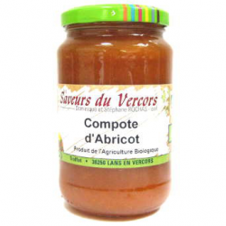 Compote d'abricot (390g)