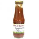 Sauce ketchup épicé (340g)-DLUO dépassée