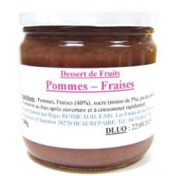 Dessert de fruits pomme / fraise (390g)