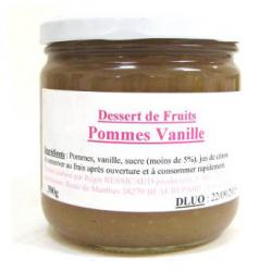 Dessert de pomme vanille (390g)