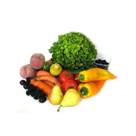 Panier de fruits et légumes 100% bio (4.5kg)