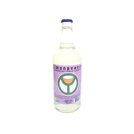 Limonade bio du Vercors à la lavande (50cl)