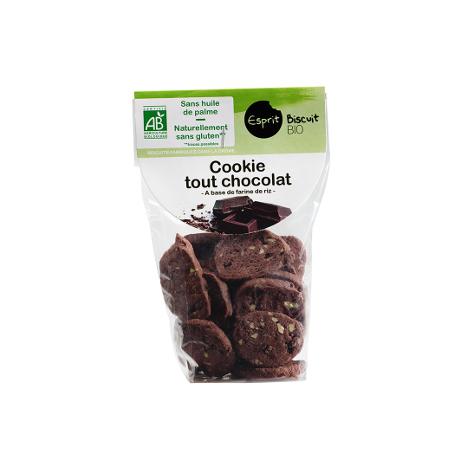 Cookies tout chocolat sans gluten (150g)