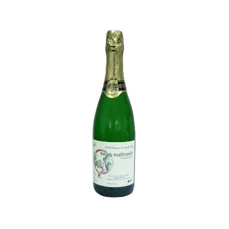 Vin blanc pétillant, méthode traditionnelle (75cl)