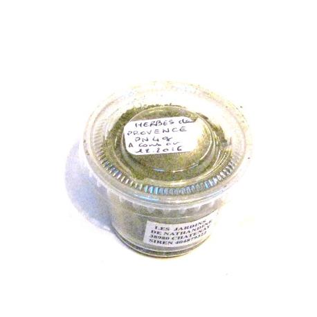Mélange 5 herbes : thym romarin sauge origan sarriette (4g)