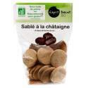 Sablés châtaignes bio sans gluten (150g)