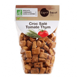 Croc salé tomates thym bio (200g)