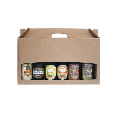 Pack surprise mensuel de 6 bières (6x33cl)