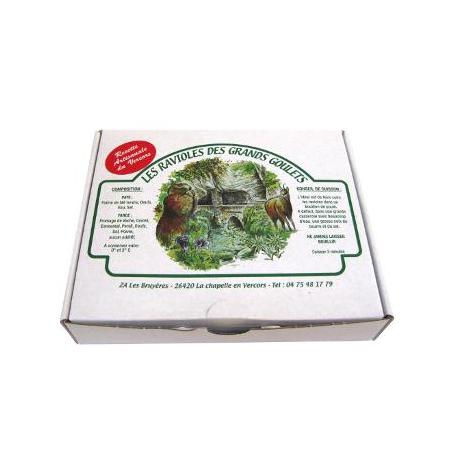 Ravioles aux épinards (500g)