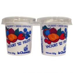 Yaourt à la fraise (2x125g)