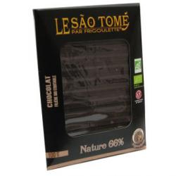 Tablette de chocolat noir bioéquitable à la lavande 2% (100g)