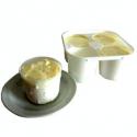 Faisselles au lait de chèvre Chèvrerie de la Gabote (4x125g)