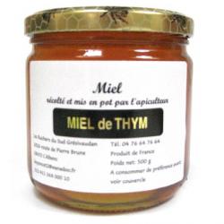 Miel de thym (500g)