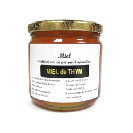 miel de thym grenoble