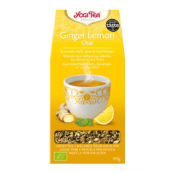 Infusion d'épices Yogi Tea Ginger Lemon (90g)